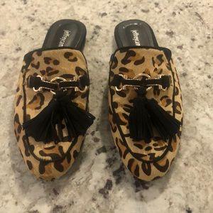 Women's Jeffrey Campbell leopard print loafers